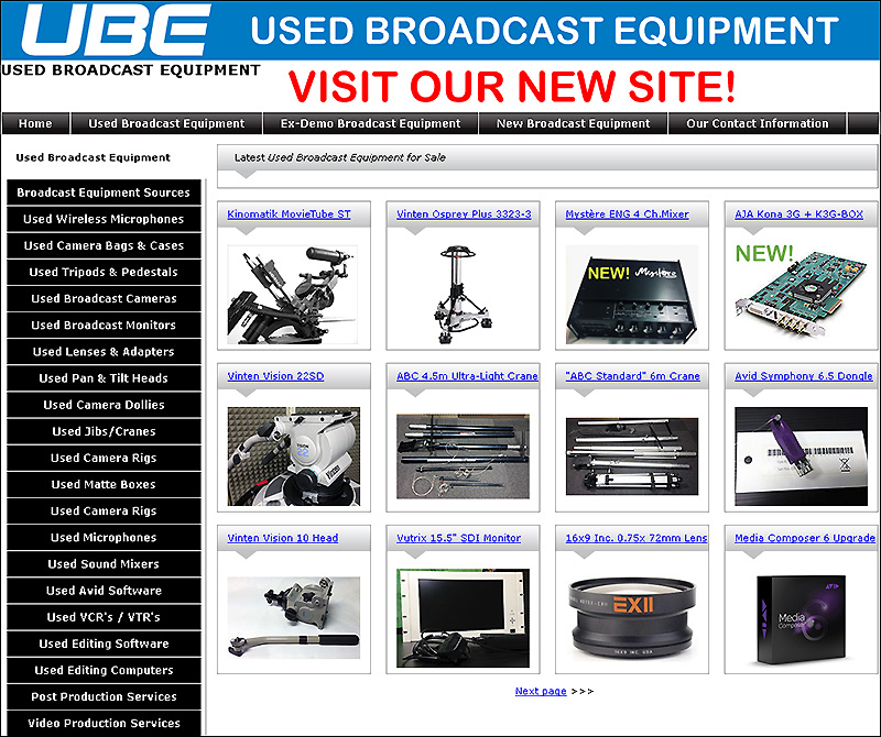 Used Broadcast equipment
